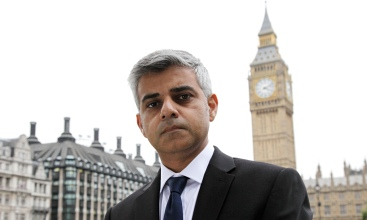 Sadiq Khan MP at Westminster, London, Britain - 11 Oct 2012